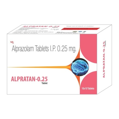 Alpratan-0.25-Tablet-Alprazolam-Tablets-IP-0.25mg-Tanpal-Pharmaceuticals-Best-Pharma-PCD-Franchise-Contract-Manufacturing-Company