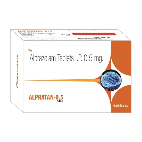 Alpratan-0.5-Tablet-Alprazolam-Tablets-IP-0.5mg-Tanpal-Pharmaceuticals-Best-Pharma-PCD-Franchise-Contract-Manufacturing-Company