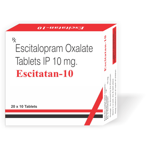 Escitatan-10-Tablet-Escitalopram-Oxalate-Tablets-IP-10mg-Tanpal-Pharmaceuticals-Best-Pharma-PCD-Franchise-Contract-Manufacturing-Company