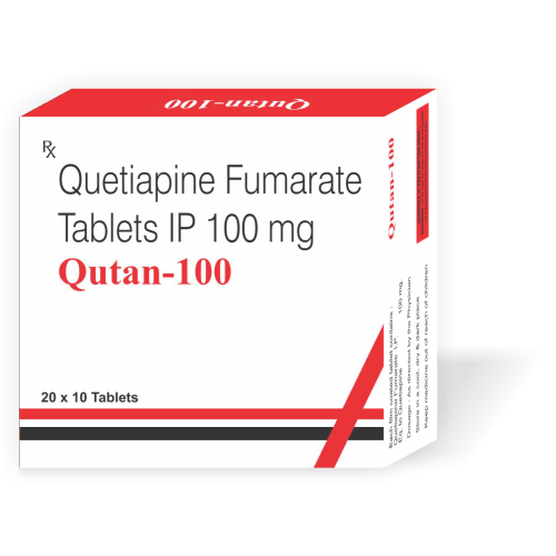 Qutan-100-Tablet-Quetiapine-Fumarate-Tablets-IP-100mg-Tanpal-Pharmaceuticals-Best-Pharma-PCD-Franchise-Contract-Manufacturing-Company