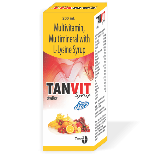 Tabvit-Syrup-Sugar-Free-Multivitamin-Multimineral-with-L-Lysine-Syrup-Tanpal-Pharmaceuticals-Best-Pharma-PCD-Franchise-Contract-Manufacturing-Company