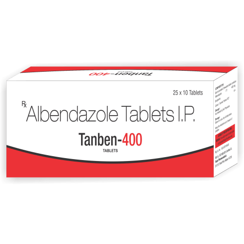 Tanben-400-Tablet-Albendazole-Tablets-IP-Tanpal-Pharmaceuticals-Best-Pharma-PCD-Franchise-Contract-Manufacturing-Company