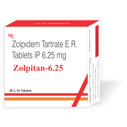 Zolpitan-6.25-Tablet-Zolpidem-tartrate-ER-Tablets-IP-6.25mg-Tanpal-Pharmaceuticals-Best-Pharma-PCD-Franchise-Contract-Manufacturing-Company