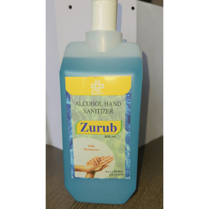 Zurub-Handrub-Alcohol-Hand-Sanitizer-500ml-Zusage-Healthcare-1